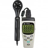 BT513 - Air Velocity Meter with air velocity, airflow, temperature and relative humidity